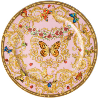 Versace Butterfly Garden Charger