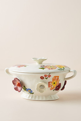 Nathalie Lete Titania Lidded Serving Bowl By Nathalie Lete in Assorted Size PASTA