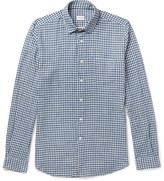 Incotex - Ted Slim-fit Penny-collar Gingham Cotton Shirt