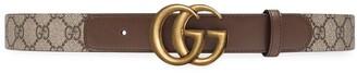 Gucci Double G buckle GG belt