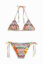 Missoni Triangle Cut Bikini