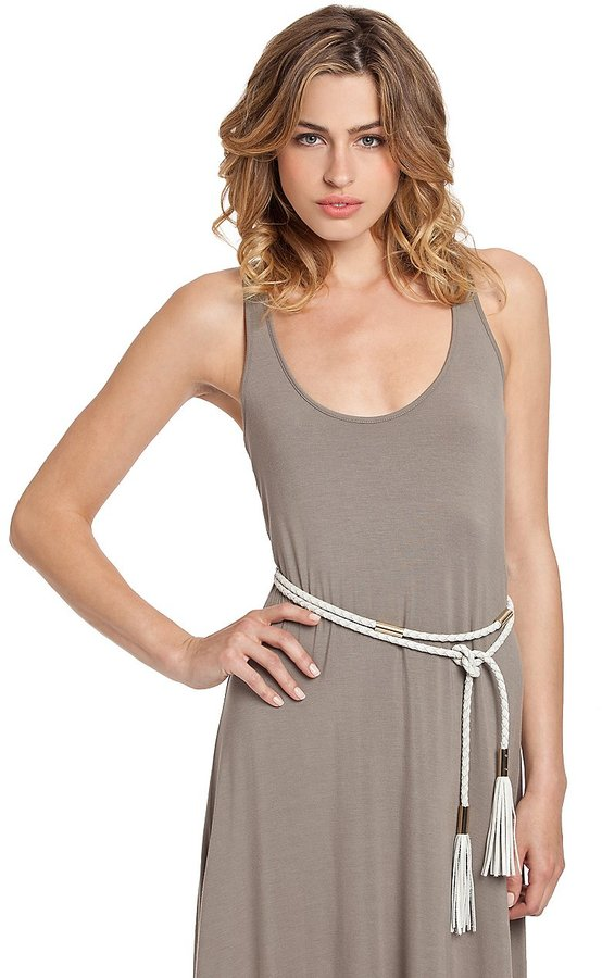 GUESS by Marciano Braided Double Wrap Belt