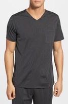 Daniel Buchler Silk & Cotton V-Neck T-Shirt