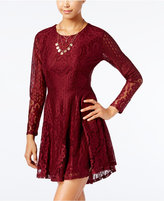 American Rag Lace A-Line Dress, Only at Macy's