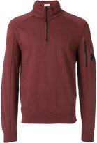 C.P. Company zipped collar sweatshirt