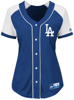 Majestic Women's Los Angeles Dodgers Fashion Replica Jersey