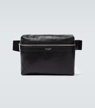 Saint Laurent Leather messenger bag