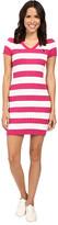 U.S. Polo Assn. Stripe Cable V-Neck Dress
