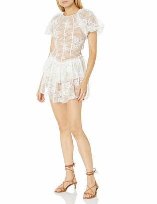 For Love & Lemons Women's Puff Sleeve