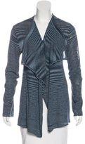 Tory Burch Silk-Blend Open Cardigan