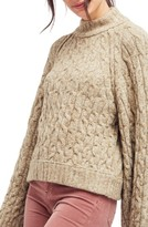 Free People Women's Snow Bird Cable Knit Sweater