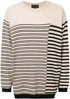 Super Légà ̈re striped sweater
