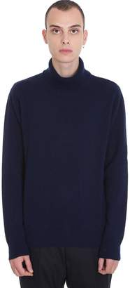 Maison Margiela Knitwear In Blue Wool