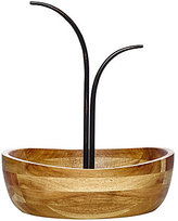 Mikasa Vienna Wrought Iron & Wood Fruit Bowl with Double Banana Hook