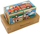 Melissa & Doug Kids Toy, Vehicles Sound Blocks