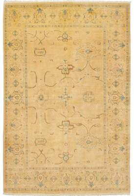 """Alegria Canora Grey One-of-a-Kind Hand-Knotted 6'1"""" x 9'3"""" Wool Brown Area Rug Canora Grey"""