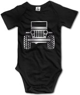 WSPN Jeep Wrangler Platinum Style Baby Sleeveless Romper Jumpsuit