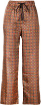 ASTRAET tile print trousers