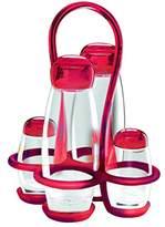 Guzzini Fratelli Gocce, Cruet set, SAN PE Glass PMMA