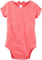 Osh Kosh Oshkosh Bow Cotton Bodysuit - Baby Girls newborn-24M