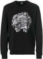 Just Cavalli leopard head print sweatshirt
