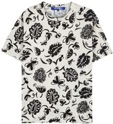 Junya Watanabe Man Off White Printed Cotton T-shirt