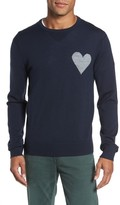 Michael Bastian Men's Heart-On Intarsia Merino Sweater