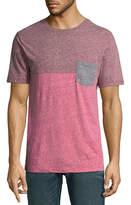 Arizona Short Sleeve Colorblock Pocket T-Shirt