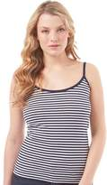 Board Angels Womens Striped Cami Top Navy/White