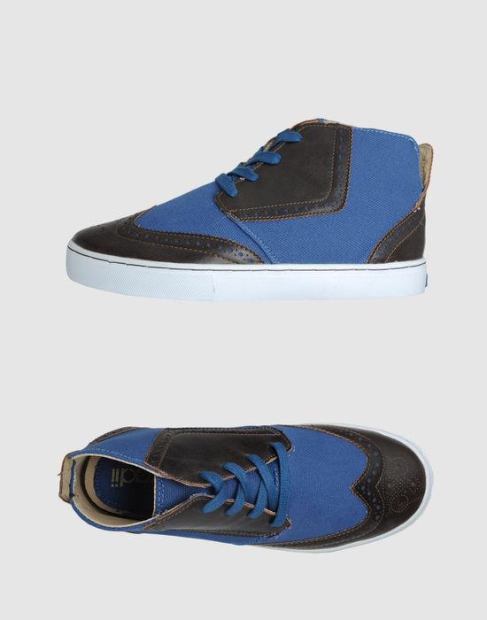 Radii High-top dress shoe