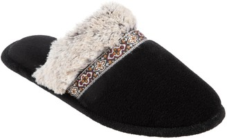 Isotoner Women's Zulu Microterry Clog Slippers