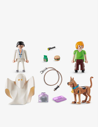 Playmobil Scooby Doo, Shaggy and Ghost playset