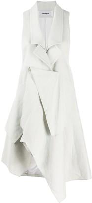 Chalayan Panel Drape Vest Jacket