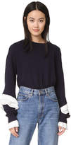 Clu Sweatshirt with Pleating