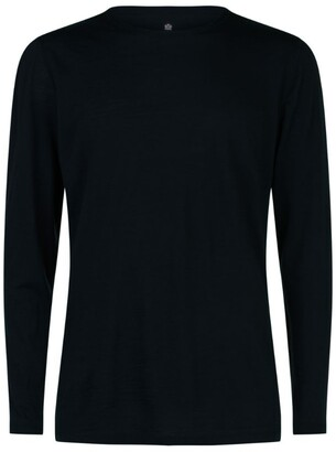 Sunspel Merino Wool Long Sleeve T-Shirt