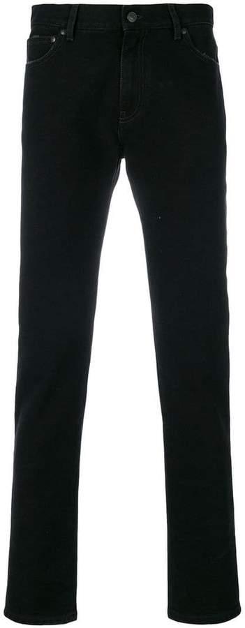 MSGM slim-fit branded jeans
