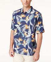 Tommy Bahama Men's Majestic Flora Silk Shirt