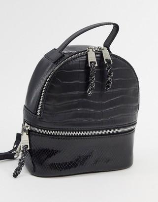 Steve Madden nile backpack in black
