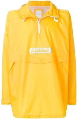 Martine Rose Napa By oversized hooded raincoat