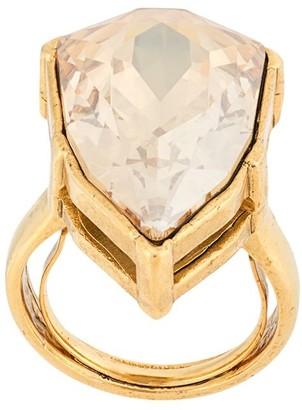 Oscar de la Renta Gallery crystal-embellished ring