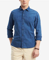 Tommy Hilfiger Men's Stars & Stripes Patchwork Print Denim Shirt, Created for Macy's