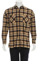 Fear Of God 2016 Plaid Flannel