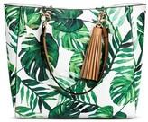 Mossimo Women's Tote Handbag White/Green