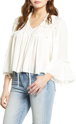 Endless Rose Beliza Gauze Top