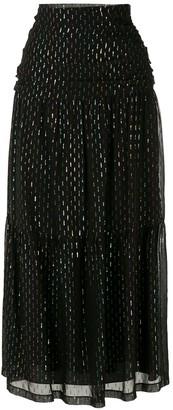 Nk Silk Sparkle Details Maxi Skirt