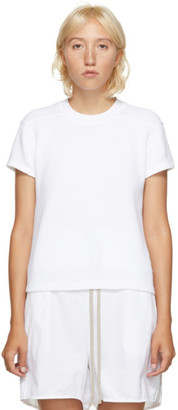 Rick Owens White Thermal Level T-Shirt