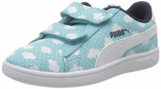 Puma Girls' Smash V2 Cloud V Ps Sneakers