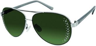 Southpole Women's 449sp-slvm Aviator Sunglasses