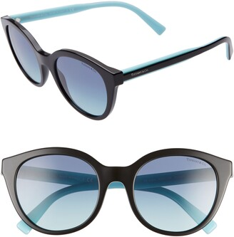 Tiffany & Co. 52mm Gradient Cat Eye Sunglasses
