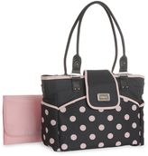 Carter's dotted diaper tote - pink